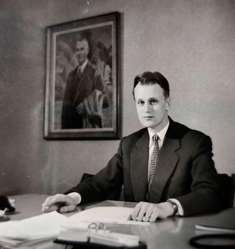 Börje-Brunberg-toimistossa